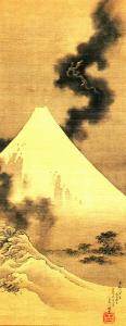 北斎「富士越龍図」