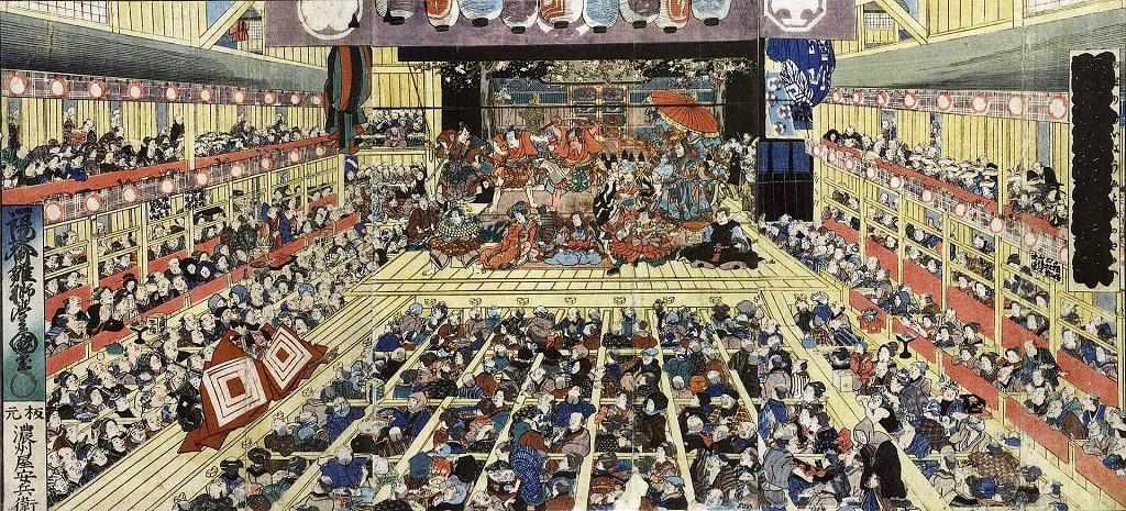 安政5年7月(1858年)江戸・市村座上演